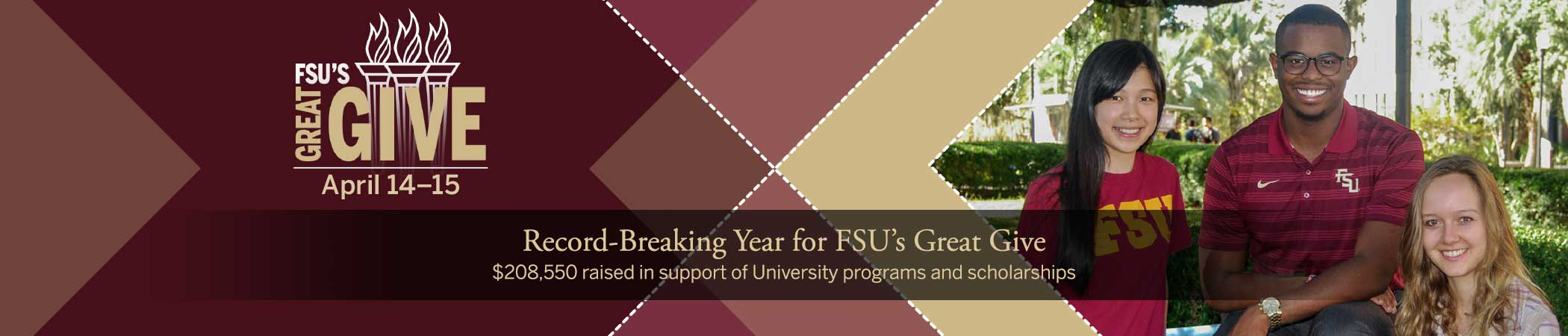 Record-Breaking Year for FSU's Great Give