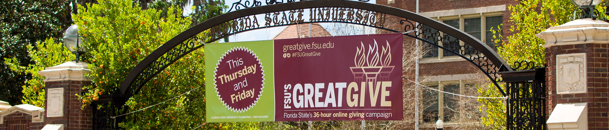 FSU's Great Give March 22–23!