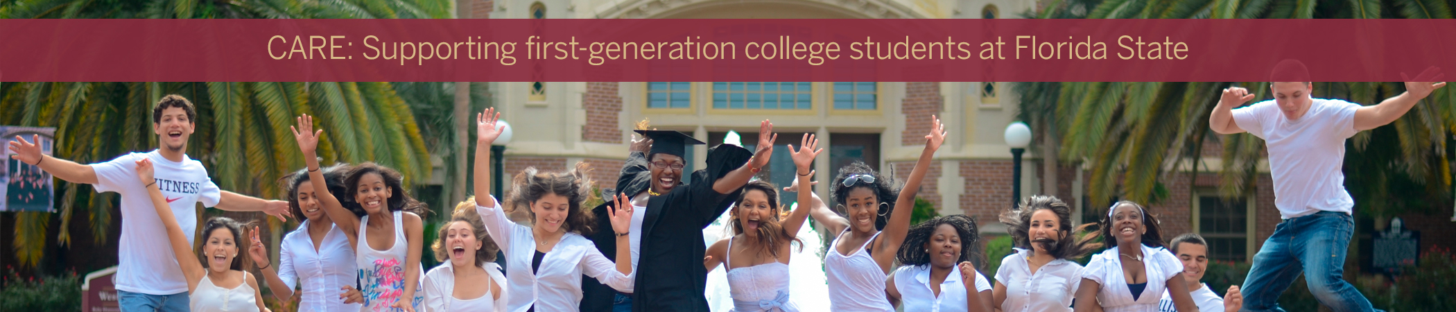 Learn more about supporting first generation college students at Florida State