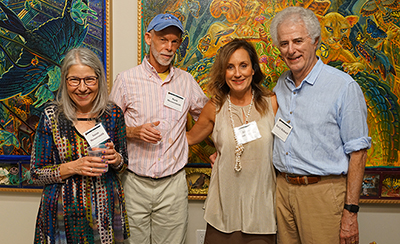 Susan & Mark Messersmith with Buyers Allison Tant-Richard and Barry Richard