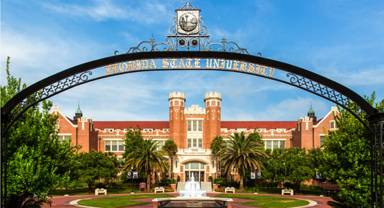 Florida State University Westcott entrance